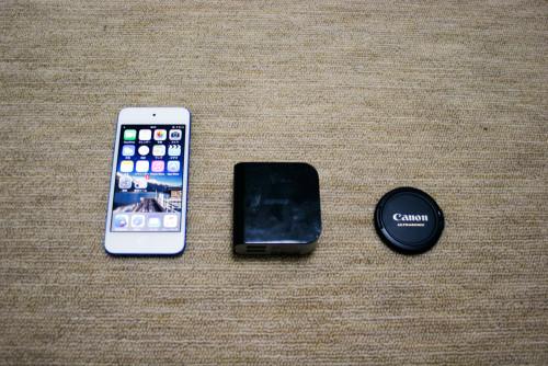 iPod touch等とサイズを比較してみたの図