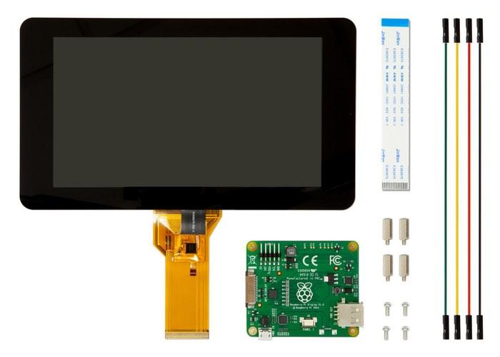 Raspberry Pi 7インチタッチスクリーンディスプレイ