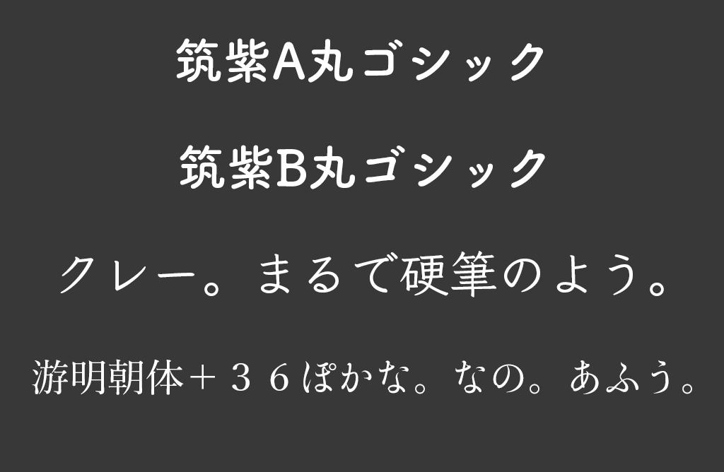 El Capitanの新日本語フォント
